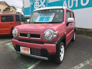 スズキ ハスラー 軽自動車 未使用車 埼玉 坂戸