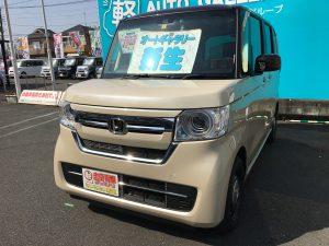ホンダ N-BOX 軽自動車 未使用車 埼玉 坂戸