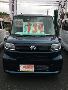 ダイハツ タント タントX 軽自動車 未使用車 川越 坂戸 鶴ヶ島