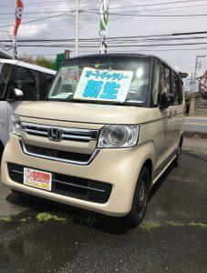 ホンダ NBOX 未使用車 軽自動車